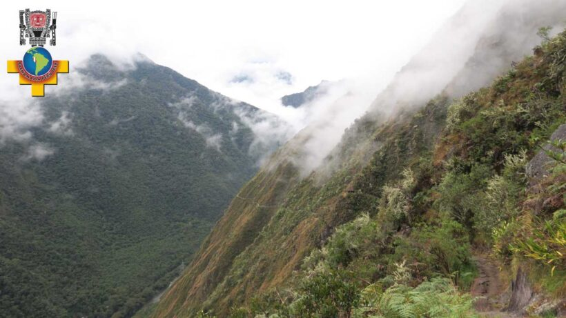 the 2 day Inca Trail-to-Machu-Picchu-through-the-valley