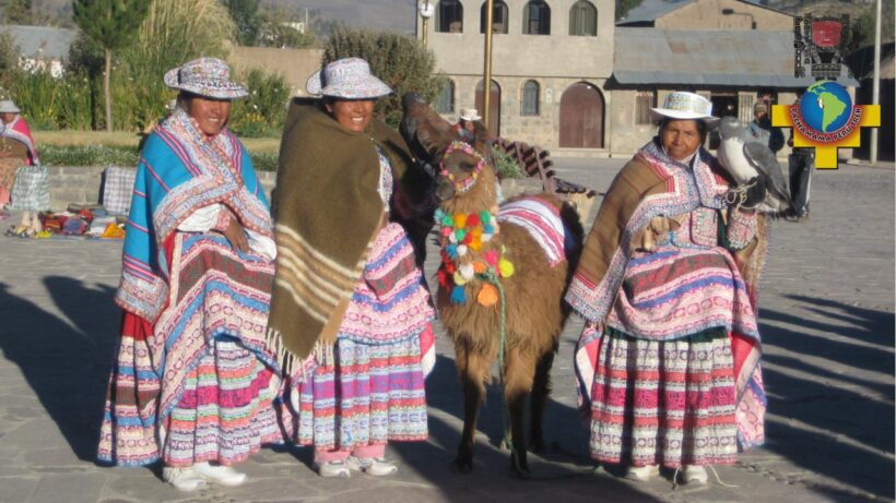 Settlers of the Colca Canyon in Arequipa